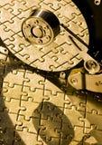 зигзаг диска трудный Стоковая Фотография RF