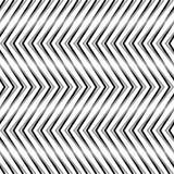 Зигзаг, рифлёные, serrated линии Динамические, скачками нашивки Стоковые Фотографии RF