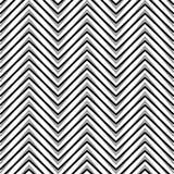 Зигзаг, рифлёные, serrated линии Динамические, скачками нашивки Стоковое Фото