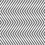 Зигзаг, рифлёные, serrated линии Динамические, скачками нашивки Стоковое Изображение
