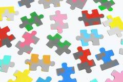зигзаг соединяет головоломку Стоковое Изображение