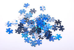 зигзаг соединяет головоломку стоковые изображения