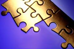 зигзаг соединяет головоломку Стоковое Фото