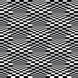 Зигзаг Op искусства проверяет картину стоковые изображения rf