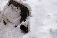 зима автомобиля Стоковая Фотография RF