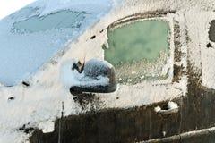 зима автомобиля Стоковое Изображение RF