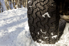 зима автошины Стоковые Изображения RF