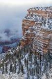 зима ландшафта каньона грандиозная Стоковые Фото