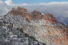 зима ландшафта каньона грандиозная Стоковые Изображения RF