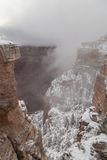 зима ландшафта каньона грандиозная Стоковое Изображение