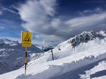 зима ландшафта дня солнечная Стоковое фото RF