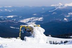 зима ландшафта дня солнечная Стоковая Фотография