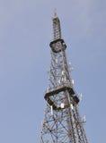 зима башни радиосвязи ночи moscow dmitrov города зоны Стоковые Изображения