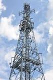 зима башни радиосвязи ночи moscow dmitrov города зоны Стоковые Фото