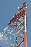 зима башни радиосвязи ночи moscow dmitrov города зоны Стоковая Фотография RF
