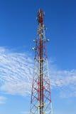 зима башни радиосвязи ночи moscow dmitrov города зоны Стоковые Фотографии RF