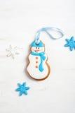 зима белизны снеговика snowball настроения предпосылки красивейшая Стоковые Изображения RF