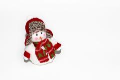 зима белизны снеговика snowball настроения предпосылки красивейшая Стоковое Изображение RF