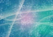 зима белизны снежинок предпосылки голубая иллюстрация штока