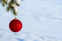зима белизны снежинок предпосылки голубая Стоковое Фото