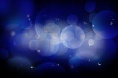 зима белизны снежинок предпосылки голубая Стоковая Фотография
