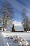 зима большого ландшафта дня глянцеватая Стоковые Фото