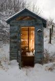зима ванной комнаты стоковое фото