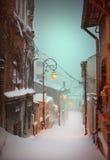 зима вала рассказа снежка ландшафта снежная Стоковое Изображение RF