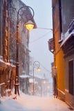 зима вала рассказа снежка ландшафта снежная Стоковые Изображения RF