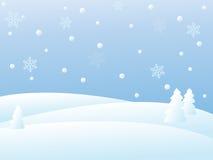 зима вектора места Стоковая Фотография RF