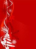 зима вектора предпосылки Стоковые Фотографии RF