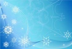 зима вектора предпосылки Стоковые Изображения