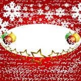 зима вектора рождества backgr Стоковое Фото