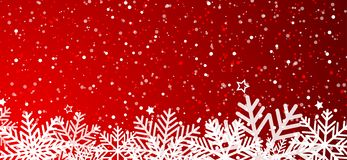 зима вектора снежинок иллюстрации предпосылки стоковая фотография
