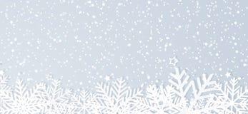 зима вектора снежинок иллюстрации предпосылки стоковые фотографии rf