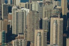 зима взгляда chicago ariel Стоковое фото RF
