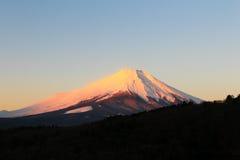 зима взгляда токио держателя 100km fuji япония западная Стоковая Фотография RF