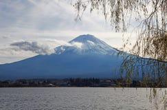 зима взгляда токио держателя 100km fuji япония западная Стоковые Фото