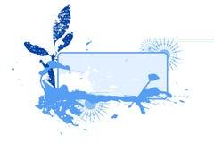 зима виньетки помаркой Стоковая Фотография RF