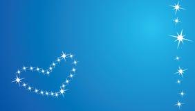 зима влюбленности карточки бесплатная иллюстрация