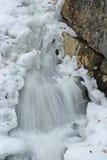 зима водопада стоковое фото rf