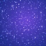 зима волшебства предпосылки темные падая снежности снежка картины ночи заполнения безшовные также вектор иллюстрации притяжки cor иллюстрация вектора
