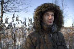 зима времени человека времени средняя Стоковая Фотография RF