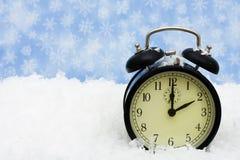 зима времени Стоковое Изображение