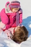 зима времени Стоковые Фотографии RF