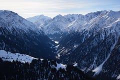 зима высокой горы Стоковое Изображение RF