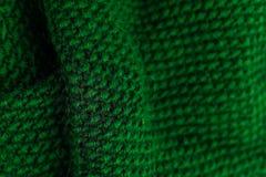 Зима вязать шерстяную предпосылку текстуры Красочное связанное hor Стоковые Изображения RF
