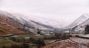 Зима в Англии стоковое изображение