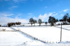 Зима в Боснии Стоковая Фотография RF