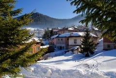 Зима в Болгарии стоковая фотография